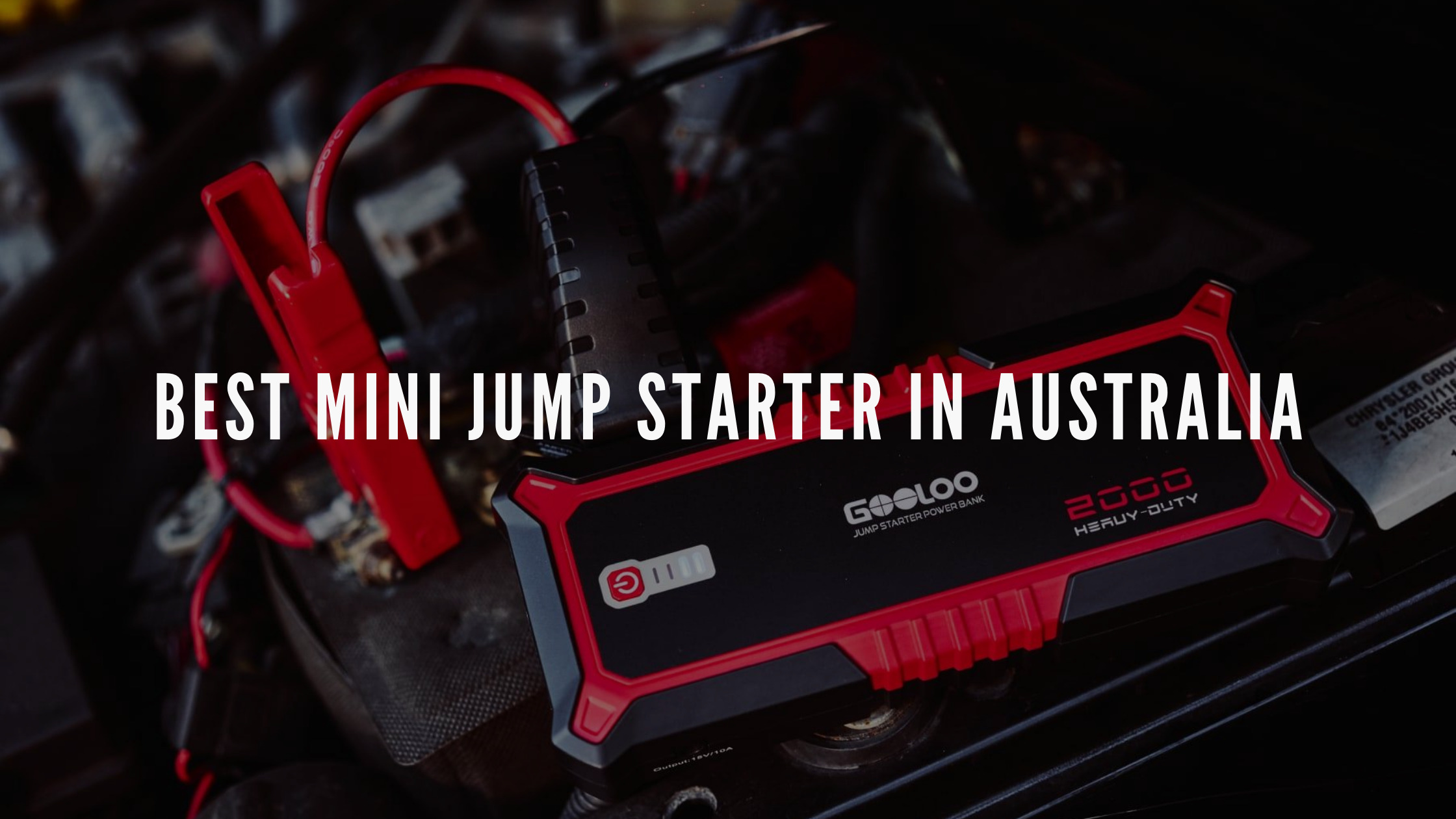 best mini jump starter in australia