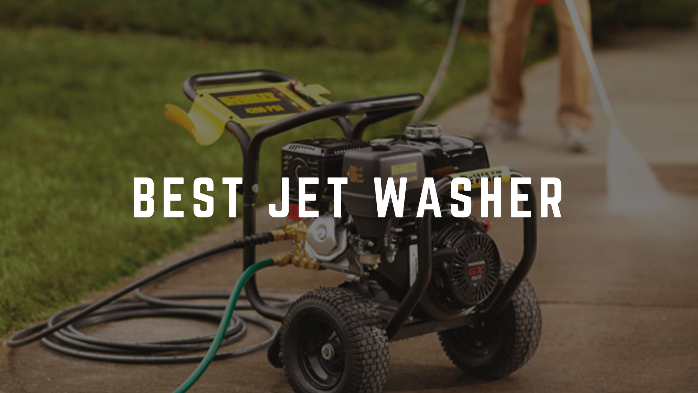 best jet washer uk